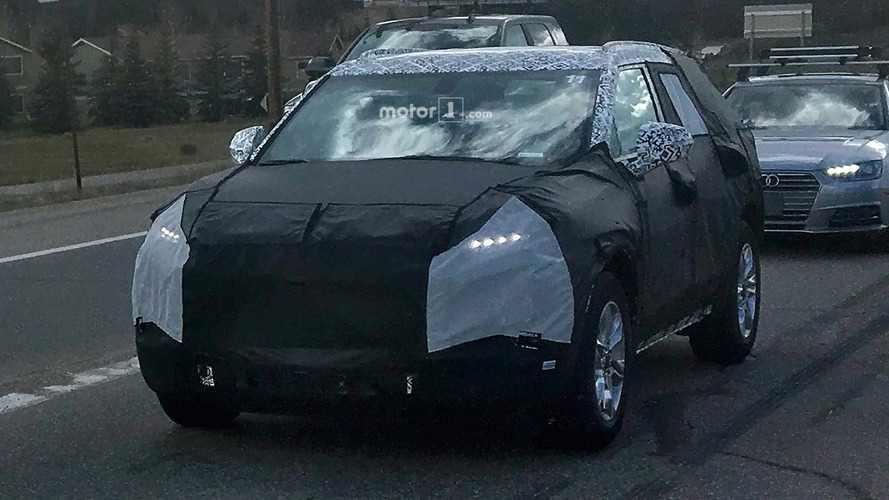 Flagra - Seria a volta da Chevrolet Blazer?