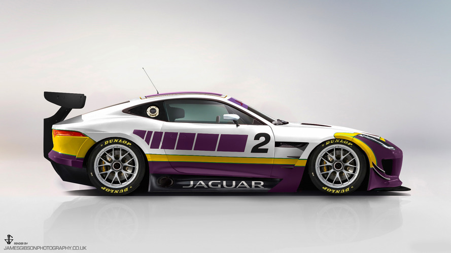 Jaguar is going GT racing with an F-Type GT4 racer