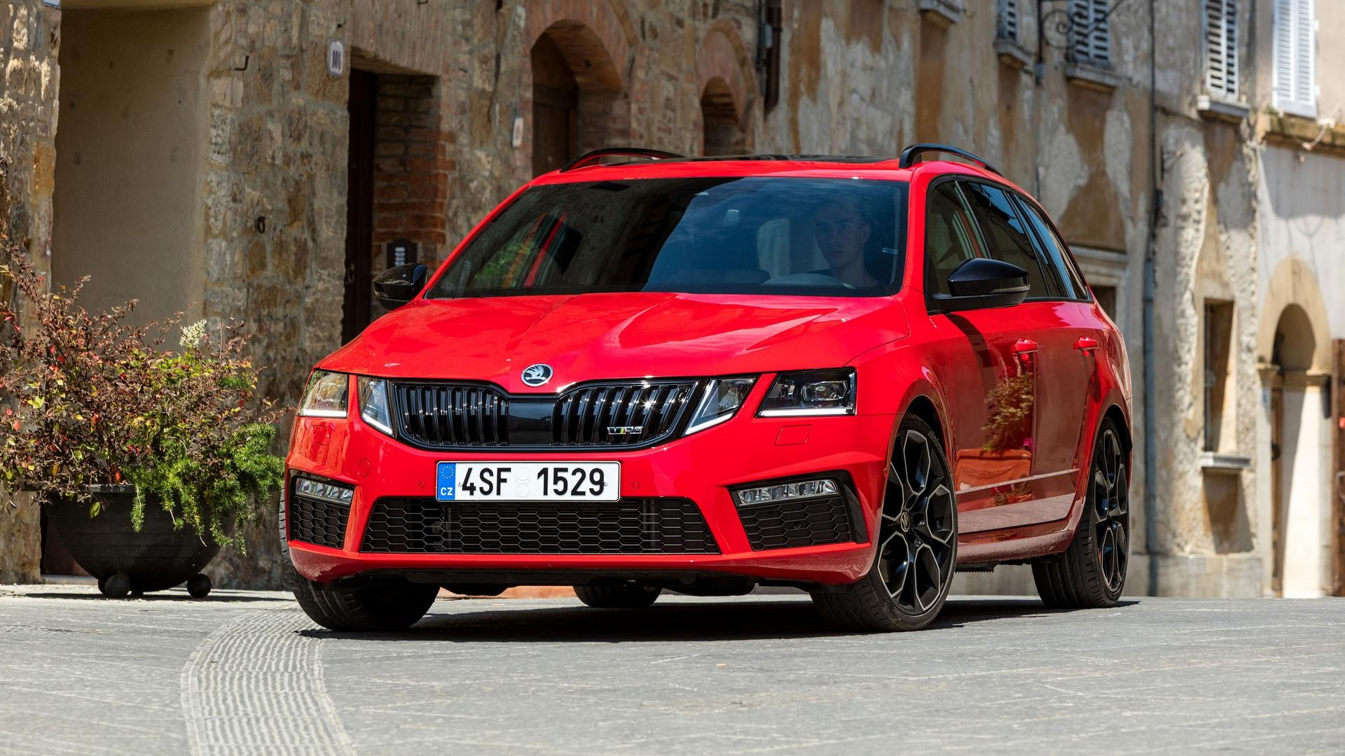 Skoda Octavia Rs 245 Shows Its Sporty Side In New Images