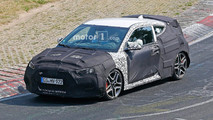 Hyundai Veloster N Spy Photos