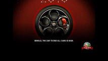 Alfa Romeo 4C teaser image 26.12.2012