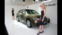 Audi Q3, la première italiana
