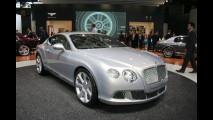 Nuova Bentley Continental GT al Salone di Parigi 2010