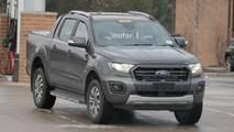 Ford Ranger Wildtrak Spy Photos