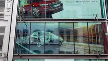 Audi welcomes Tesla in Hamburg