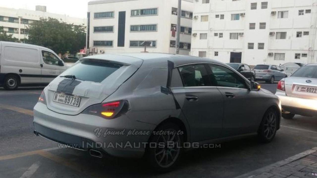 Mercedes-Benz CLA Shooting Brake spy photo
