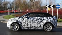 2016 Range Rover Evoque Cabrio spied testing in UK
