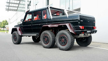 Brabus makes Mercedes-Benz G63 AMG 6x6 even more outlandish with red carbon