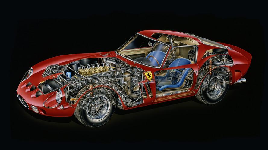 Kimble Cutaway: 1962 Ferrari 250 GTO
