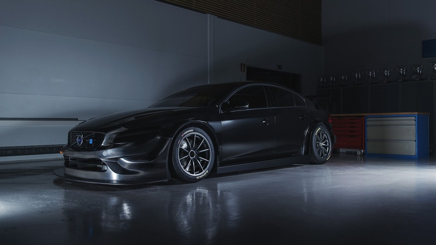 Volvo S60 Polestar TC1 looks demonic without WTCC livery
