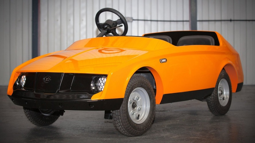 Dünyanın ilk 10 yaş altı çocuklar için yapılan otomobili: Firefly
