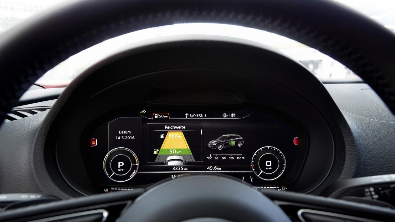 2017 audi a3 sportback e tron gets virtual cockpit sport package. Black Bedroom Furniture Sets. Home Design Ideas