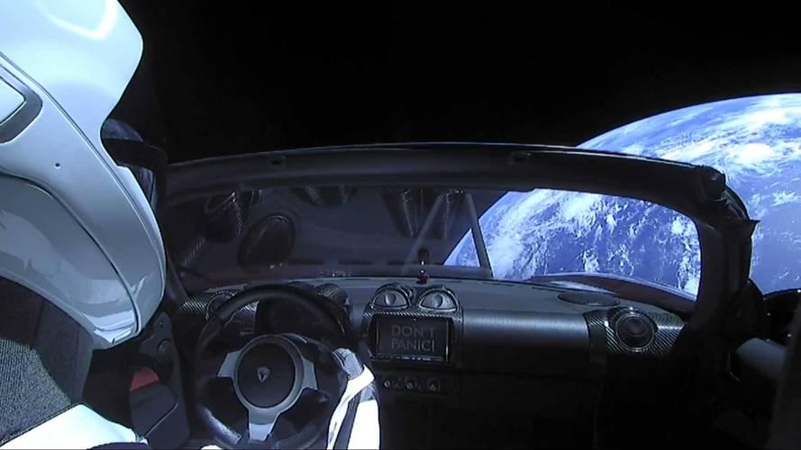 Uzaydaki Tesla'da
