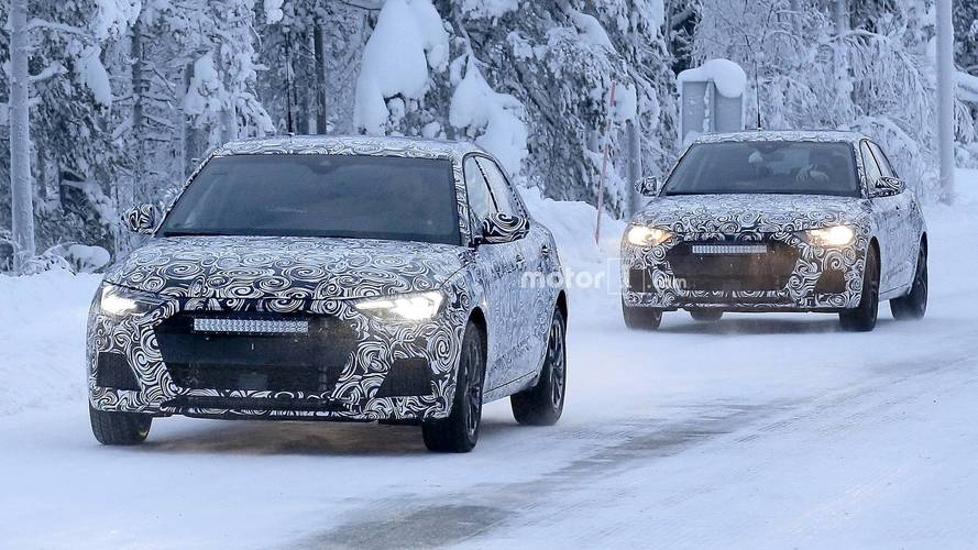 2019 Audi A1 spy images from Scandinavia