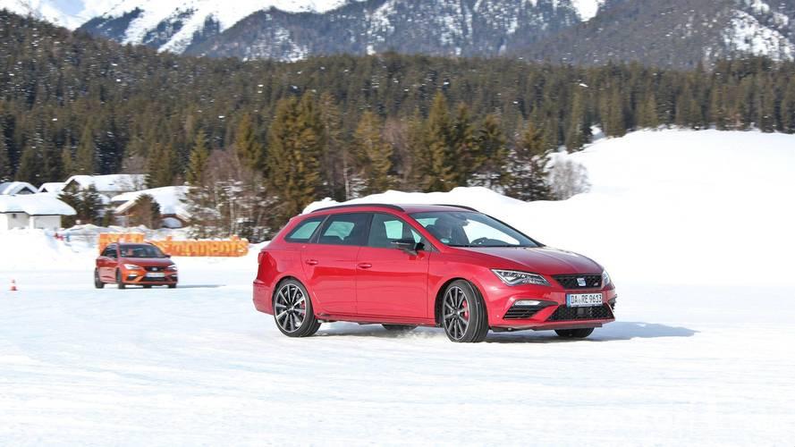 Essai de la gamme SEAT 4Drive sur la neige et la glace