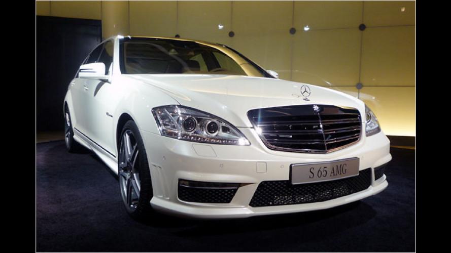 Mercedes stellt neuen S 65 AMG in Shanghai vor