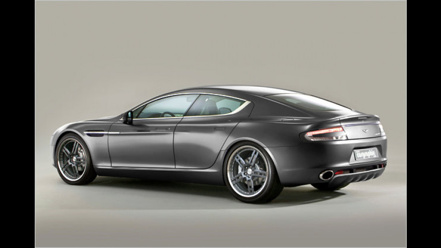 Cargraphic motzt den Aston Martin Rapide auf