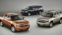 2007 Chevrolet Avalanche, Tahoe and Suburban