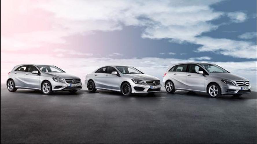 Mercedes Classe A, Classe B e CLA: 6 nuovi modelli in arrivo