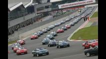 60 Ferrari F40 sul circuito di Silverstone