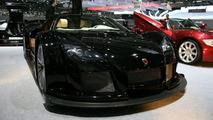 Black Gumpert Apollo at Geneva Motor Show
