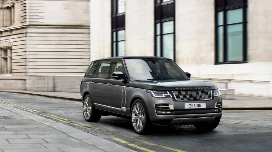Range Rover SUV is presented in the most luxurious version