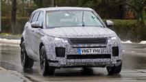 2019 Range Rover Evoque casus fotoğraflar
