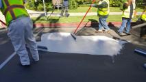 CoolSeal, la vernice bianca per raffreddare le strade