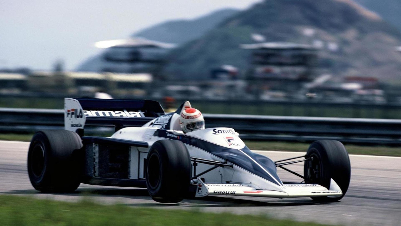 Nelson Piquet during the GP of Brazil, 1983 in the Brabham BMW BT 52 17.5.2012