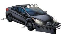 Hyundai Zombie Survival Machine illustration 21.06.2012