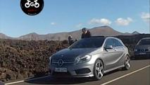 2013 Mercedes-Benz A-Class spy photo, Lanzarote, Canary Islands, 800, 02.02.2012