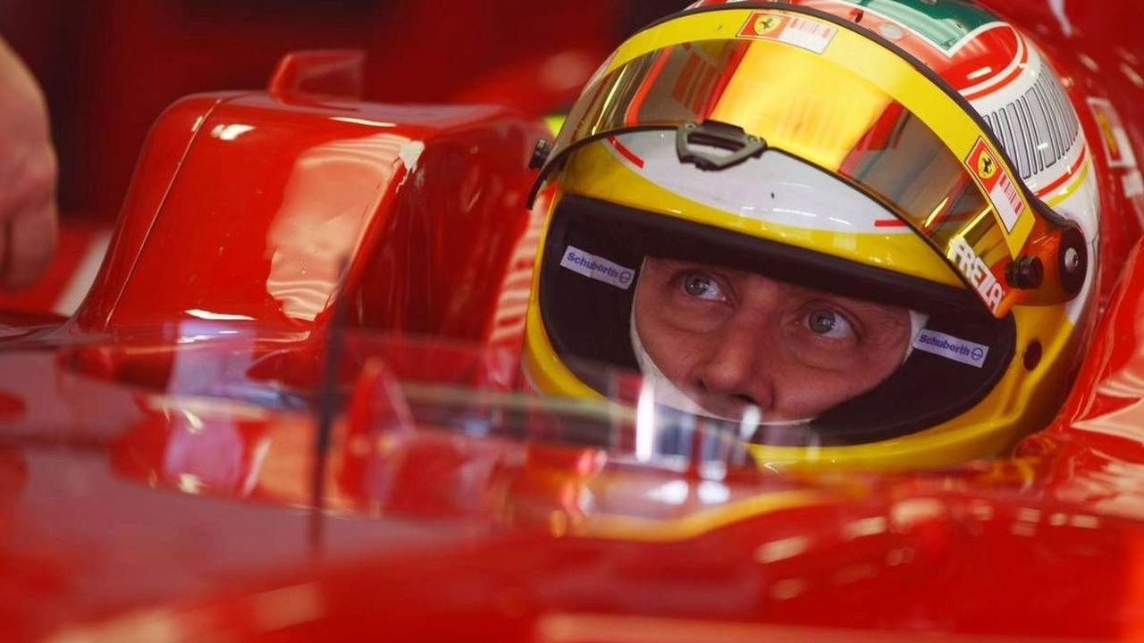 Luca Badoer, Test Driver, Scuderia Ferrari - , Algarve MotorPark