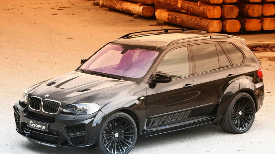G-Power Typhoon Black Pearl based on BMW X5 (E70) with 625hp