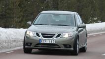 2012 Saab 9-3 mule spied 14.03.2011