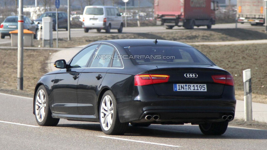 2012 Audi S6 spied undisguised