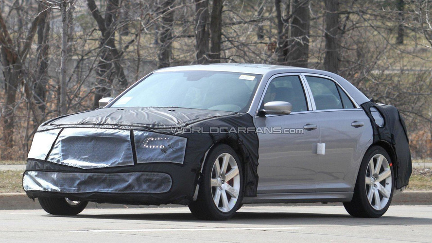 2012 Chrysler 300C SRT8 spied on the road