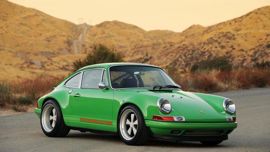 Classic Porsche 911 with modern technology by Singer Design