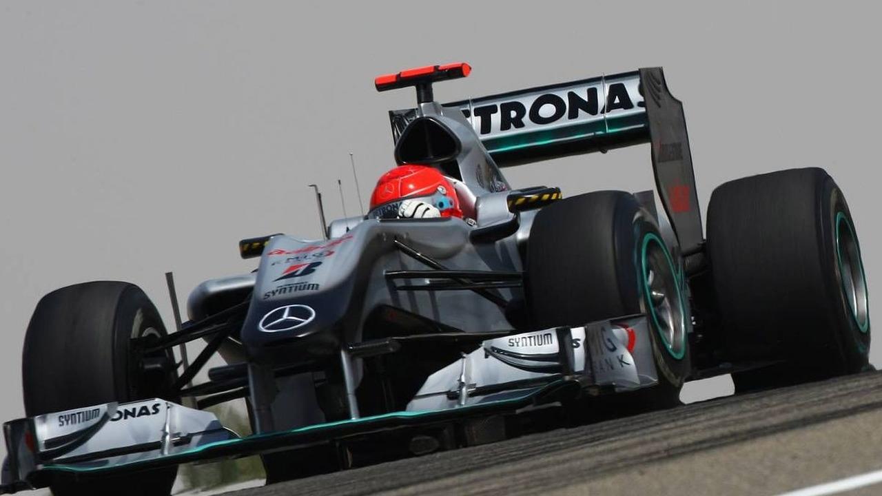 Michael Schumacher (GER), Mercedes GP Petronas, W01 - Formula 1 World Championship, Rd 1, Bahrain Grand Prix, Friday Practice