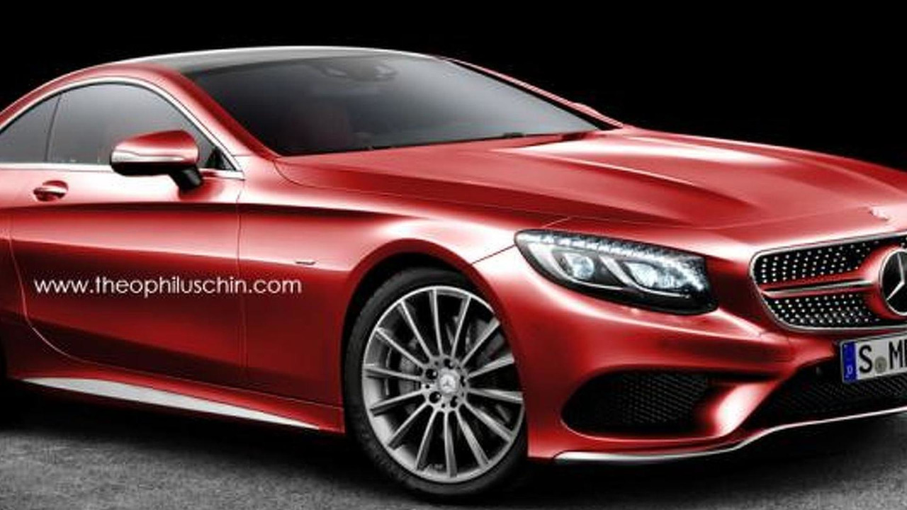 Mercedes-Benz unnamed coupe render / Theophilus Chin