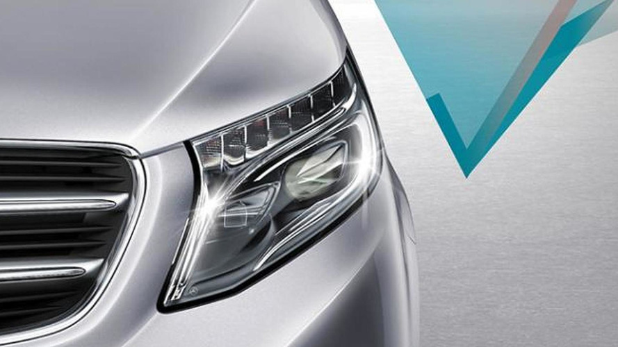 2014 Mercedes-Benz V-Class teased, debuts January 30
