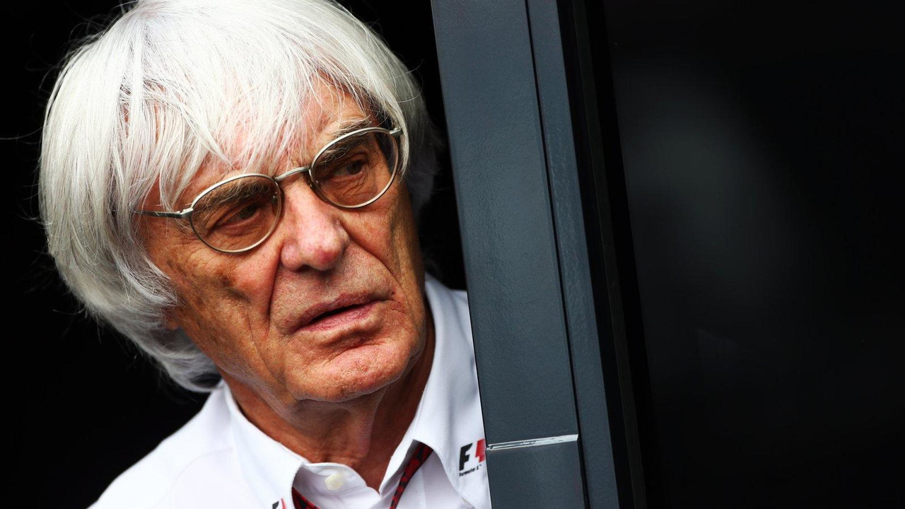 Bernie Ecclestone, German Grand Prix, 05.07.2013