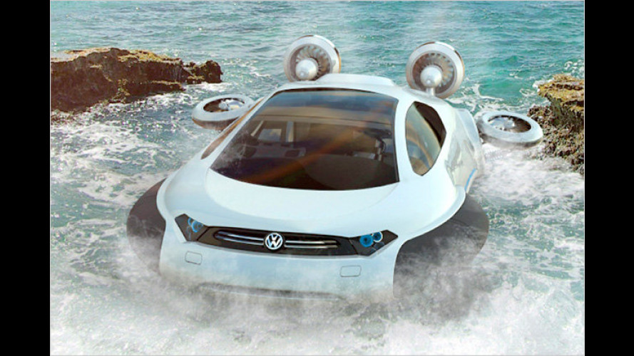 Designstudie Volkswagen Aqua: Der Golf als Alleskönner