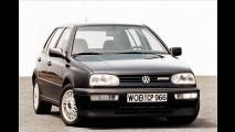 VW Golf VR6: Ein fettes VR6-Logo am Grill zeigte, was im Motorraum steckte