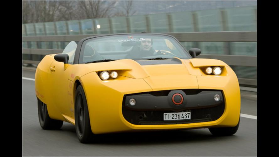 Protoscar Lampo2: Elektro-Roadster mit mehr als 400 PS