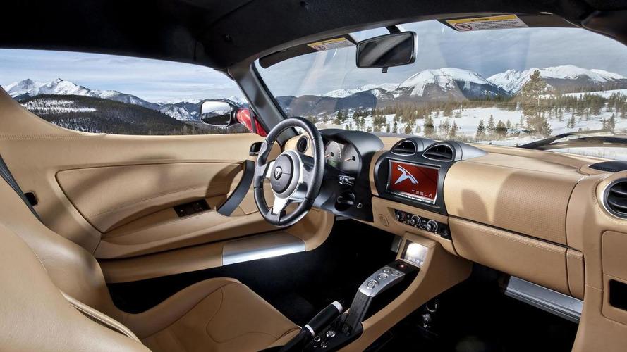 Tesla Roadster updated for 2012