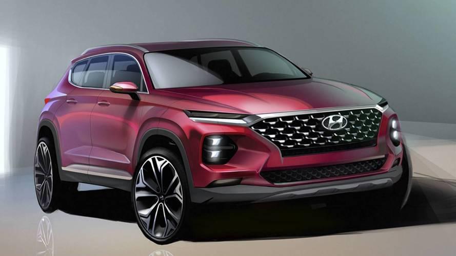 Szinte teljesen leleplezte az új Santa Fét a Hyundai