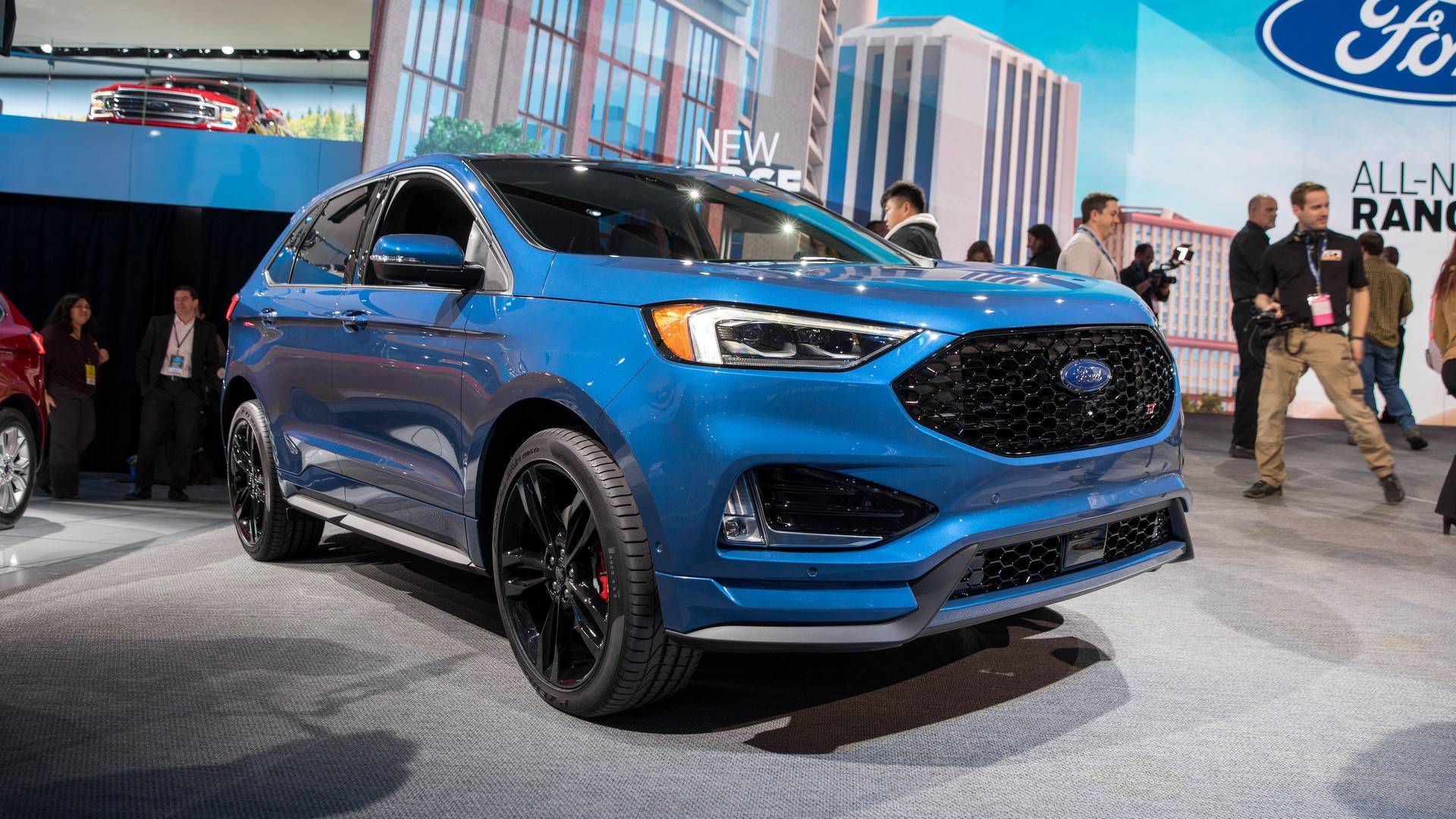 Focus St 0 60 >> VWVortex.com - 2015 Ford Edge gets official with 2.7-liter ...