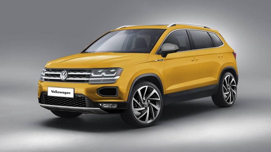 Volkswagen'in yeni ufak SUV'u böyle görünebilir