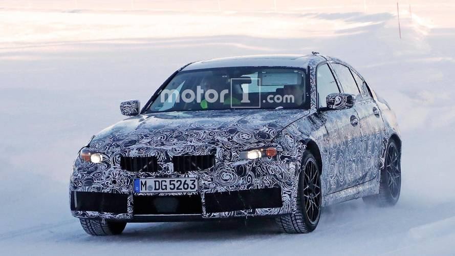 Future BMW M3 Spied During Winter Development