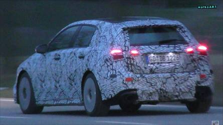 Mercedes-AMG A35 Not Too Shy To Show Fat Exhaust Tips In Traffic